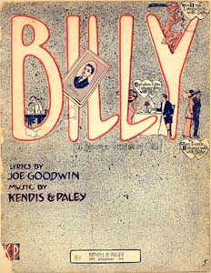 Billy (I Always Dream Of Bill)