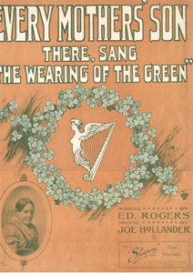 Every Mother's Son There Sang The Wearing Of The Green