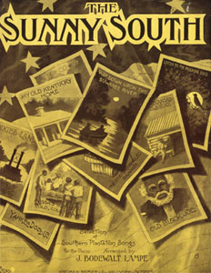 The Sunny South (Selection Of Southern Plantation Songs)