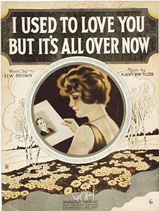 Used to love you but it s all over now song and lyrics by lew